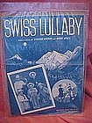Swiss Lullaby, by 101 Ranch boys, 1949 polka