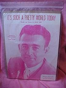 It's such a pretty world today, sheet music Wyn Stewart