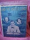 And the angels sing, sheet music Benny Goodman