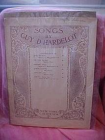 Little boy blue, sheet music 1908, Guy  D' Hardalot
