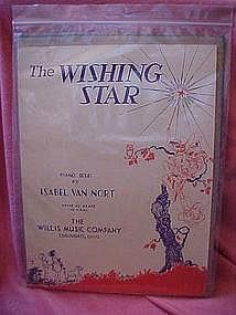 The wishing star, by Isabel Van Nort, 1931