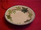 Franciscan Ivy pattern, sauce  / dessert bowl