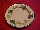 Gladding McBean Franciscan Ware Ivy pattern, B/B plate
