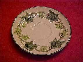 Franciscan Ivy pattern, saucer only