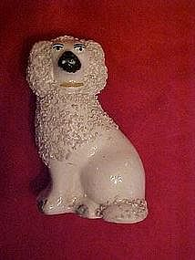 "Small 3 1/2"" tall Staffordshire dog"