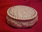 Lenox  oval dresser jar