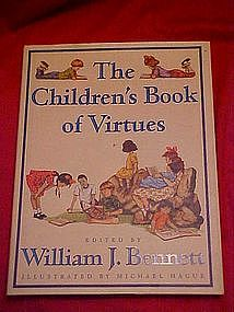 The Children's Book of Virtues, a fantastic book!