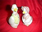Granny goose and Grandpa Goose salt and pepper