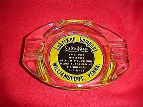 LubriKup company williamsport PA.  advertising ashtray