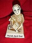 Berries sillisculpt sentiment figure, World's best Dad
