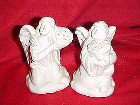 Angel salt and pepper shakers