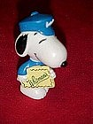 Peanuts Snoopy pvc figure with Whitmans candy box