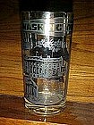 Souvenir glass, Points of interest  in Washington D.C,