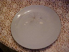 Franciscan Silver Pine dinner plate, Gladding McBean