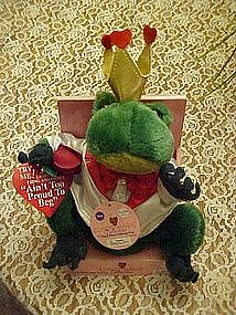Singing Dancing light up frog, Mint in Box
