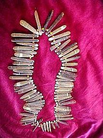 Sea urchin spine necklace