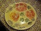 Gibson Angel pink roses dinner plate