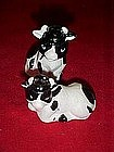 porcelain cows, salt and pepper shakers