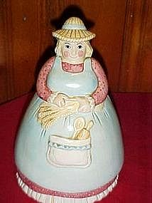 Farmers Wife cookie jar