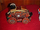 Ezera Brooks Overland Express stage coach decanter