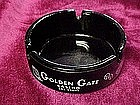 Golden Gate Casino, black amethyst ash tray