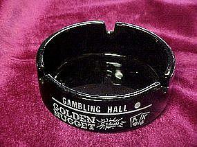 Golden Nugget, amethyst casino souvenir ashtray