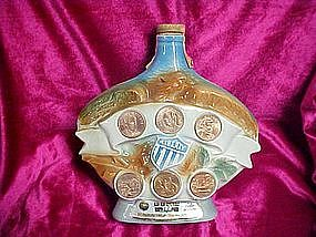 Jim Beam Liberty commemorative decanter 1970