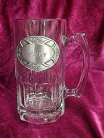 Large personalized beer mug, JERRY