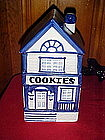 Two story victorian Cookies house, cookie jar