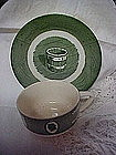 Royal Colonial Homestead cup with matching saucer