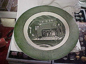 Royal China Colonial Homestead dinner plates
