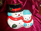 Frosty the Snowman musical cookie jar