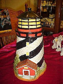 Lighthouse cookie jar by GKHO,