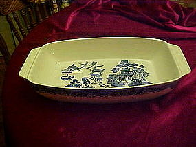 Heritage Mint Pantry Collection, Blue Willow casserole