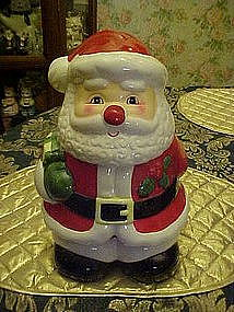 Vintage Santa Claus cookie jar by World Bazaars