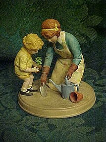 "Avon ""Helping Mom"" figurine,  by Jessie Wilcox Smith"