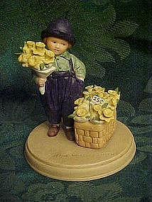 Avon Springtime, figurine by Jessie Wilcox Smith