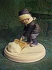 """Avon, """"A Winter Snow"""" figurine by Jessie Wilcox Smith"""