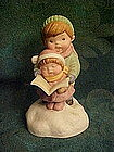 "Avon musical figurine, ""Joy to the world"" carolers"