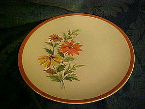 Homer Laughlin Dura Print Everglade dinner plate