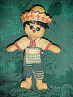 Old souvenir doll from Mexico or Central America
