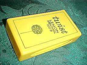 Benson & Hedges Lemon Menthol 100's advertising case