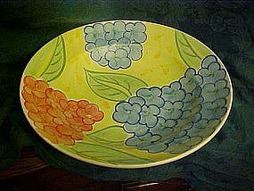 Bella Ceramics, Flora pattern, pasta or salad bowl