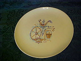 Taylor, Smith weathervane dinner plate