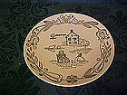 Wayne County pattern, bread & butter plate, by Royal
