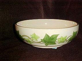 "Franciscan Ivy 7 1/4"" vegetable bowl, American"