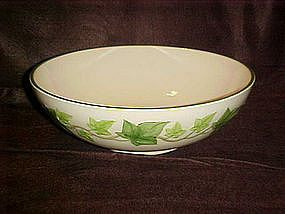 "Franciscan Ivy 11""  round salad bowl, Gladding McBean"