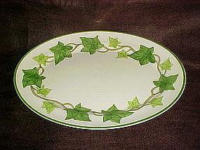 """Vintage Franciscan 11 3/8"""" ivy platter, California"""