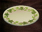 "Franciscan ivy 13 1/8""  oval serving platter, USA"