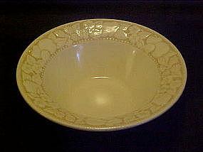 Metlox, Vernonware, antiqua rimmed cereal bowl